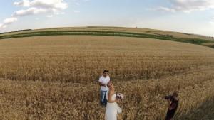 filmare din drona