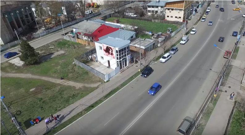 Filmare cu drona pentru spot publicitar Salon Adda Style